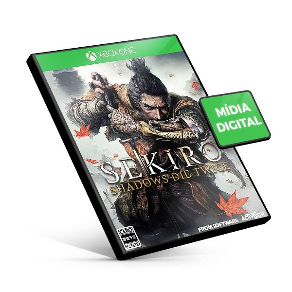 Sekiro Shadow Die Twice - Xbox One - Mídia Digital