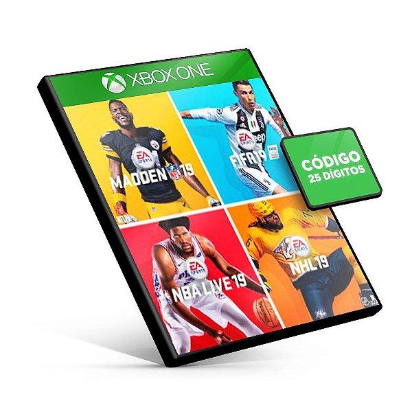 EA Sports Bundle 19 - Xbox One - Código 25 Dígitos