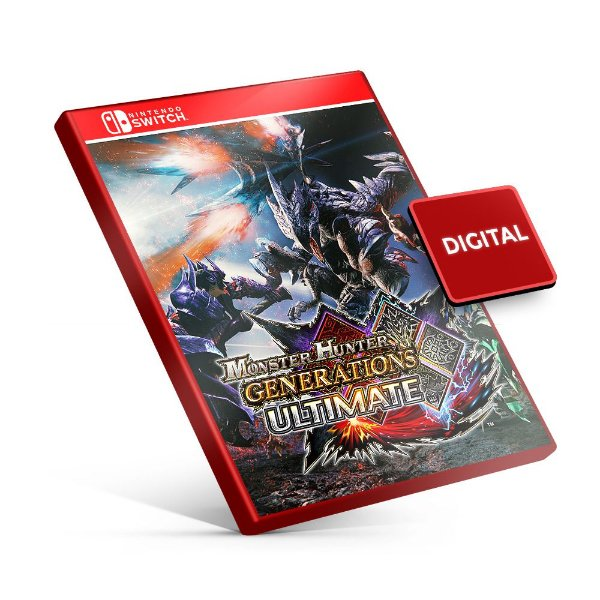 Monster Hunter Generations Ultimate - Nintendo Switch Mídia Digital