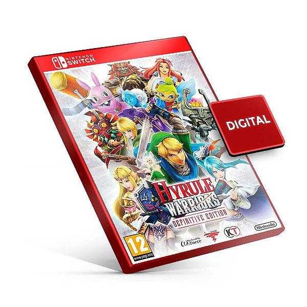 Hyrule Warriors - Nintendo Switch Mídia Digital