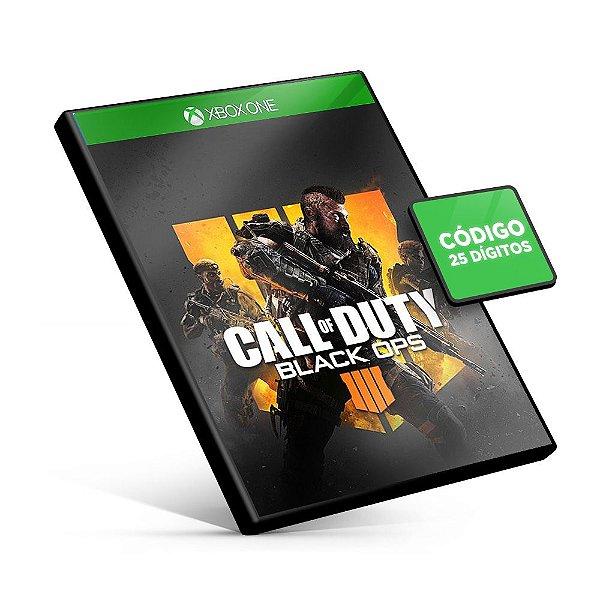 Call Of Duty Black Ops 4 - Xbox One - Código 25 Digitos