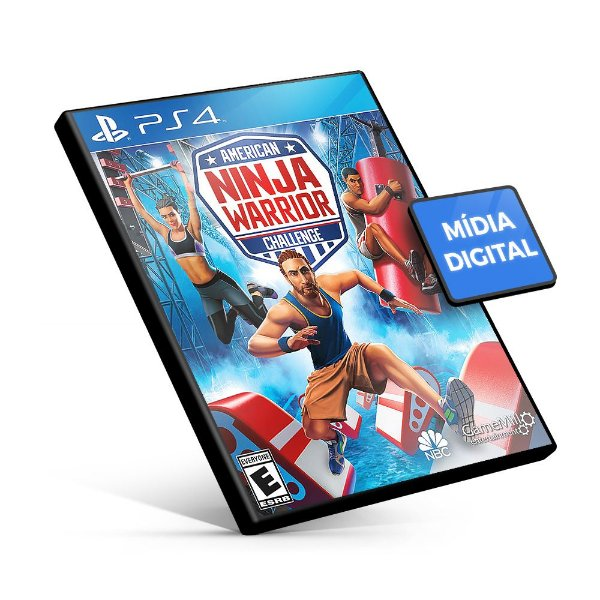 American Ninja Warrior Challenge - PS4 Mídia Digital