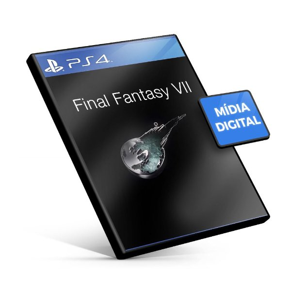FINAL FANTASY® VII - PS4 Mídia Digital