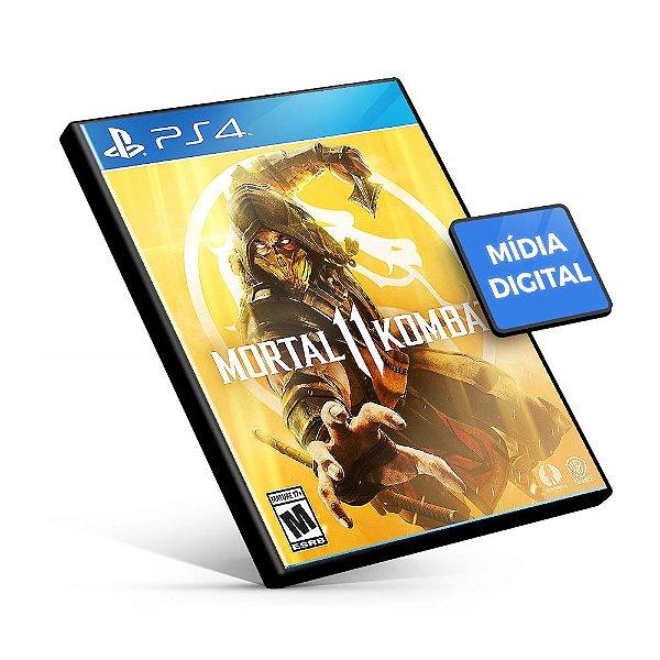 Mortal Kombat 11 - PS4 Mídia Digital
