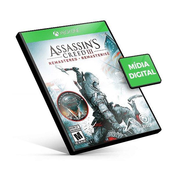 Assassin's Creed® III Remastered Xbox One Mídia Digital