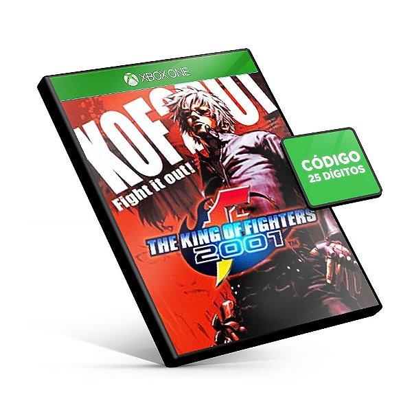 ACA NEOGEO THE KING OF FIGHTERS 2001 Xbox One Código 25 Dígitos