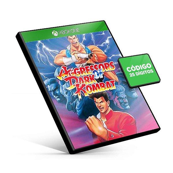 ACA NEOGEO AGGRESSORS OF DARK KOMBAT Xbox One Código 25 Dígitos