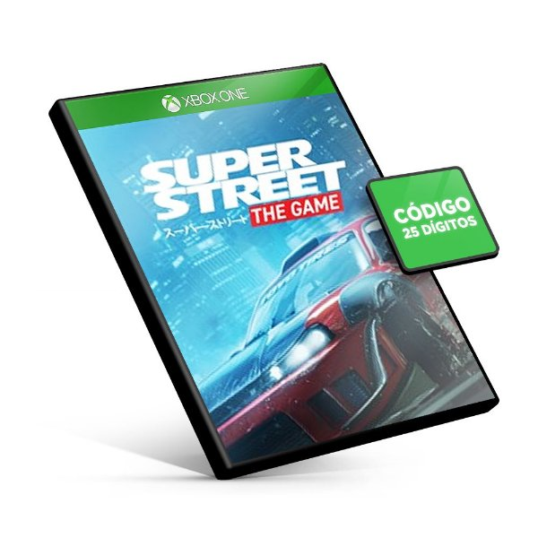 Super Street The Game Xbox One  Xbox One Código 25 Dígitos