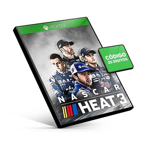 NASCAR Heat 3 Xbox One Código 25 Dígitos