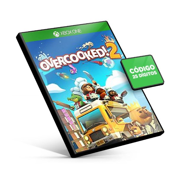 Overcooked! 2 Xbox One Código 25 Dígitos