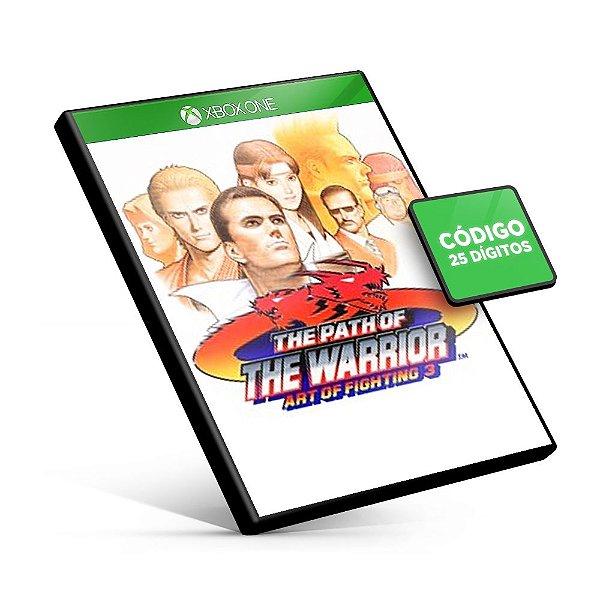 ACA NEOGEO ART OF FIGHTING 3 Xbox One Código 25 Dígitos
