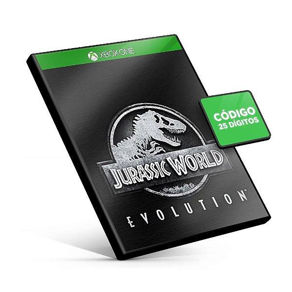 Jurassic World Evolution Xbox One Código 25 Dígitos