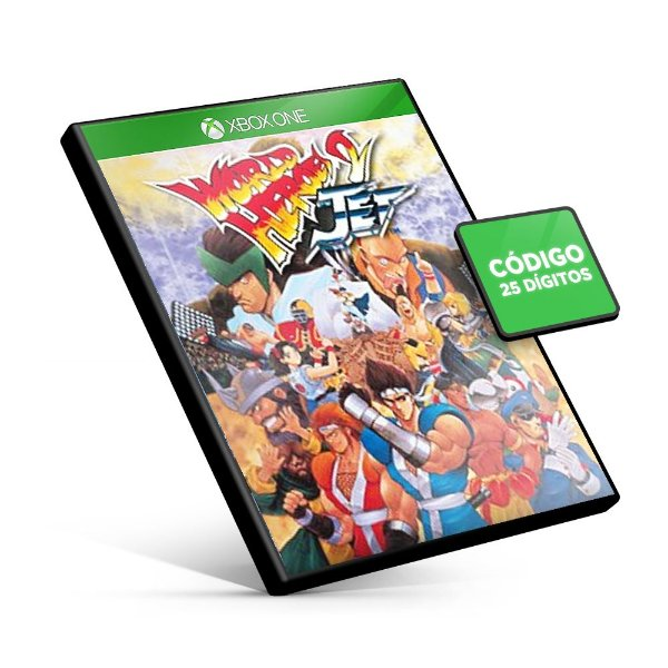 ACA NEOGEO WORLD HEROES 2 JET Xbox One Código 25 Dígitos