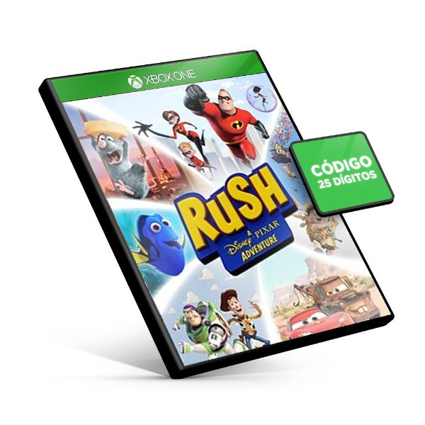 RUSH: A Disney • PIXAR Adventure Xbox One Código 25 Dígitos