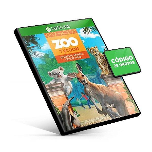 Zoo Tycoon: Ultimate Animal Collection Xbox One Código 25 Dígitos