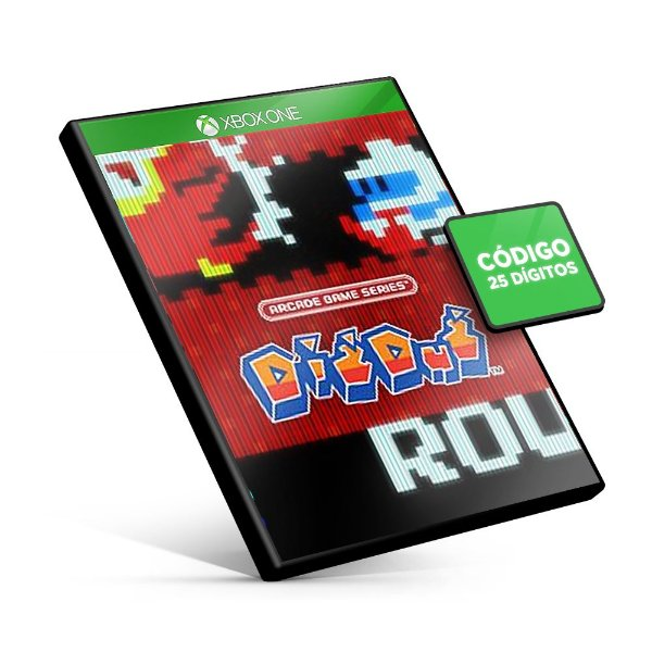 ARCADE GAME SERIES: DIG DUG Xbox One Código 25 Dígitos