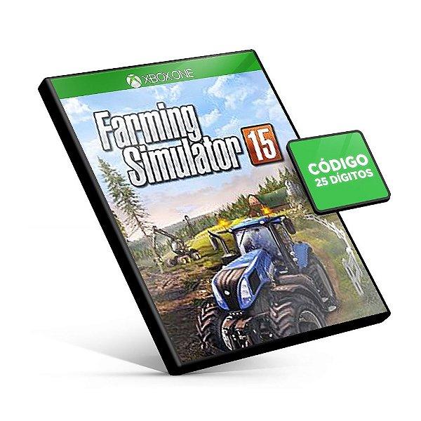 Farming Simulator 15 Xbox One Código 25 Dígitos