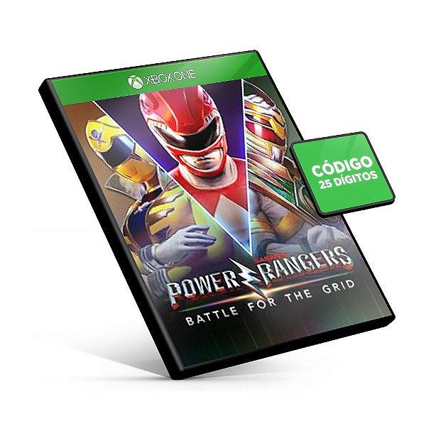 Power Rangers: Battle for the Grid Xbox One Código 25 Dígitos
