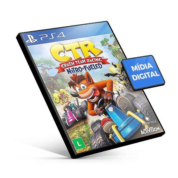 Crash Team Racing Nitro-Fueled - PS4 Mídia Digital