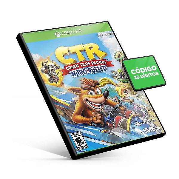 Crash Team Racing Nitro-Fueled Xbox One Código 25 Digitos