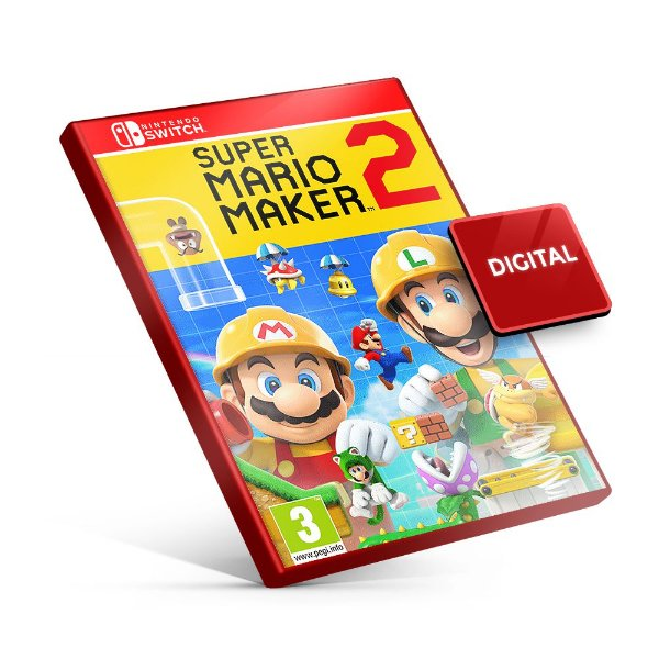 Super Mario Maker 2 - Nintendo Switch Mídia Digital
