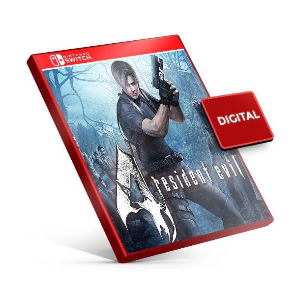 Resident Evil 4 - Nintendo Switch Mídia Digital