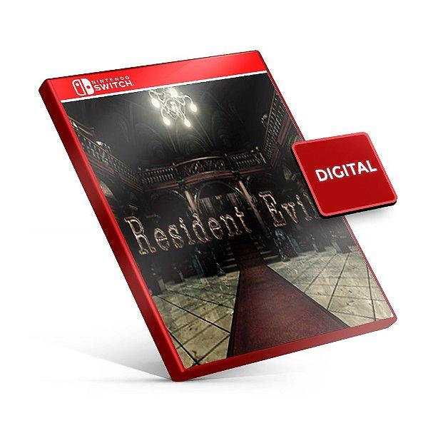Resident Evil - Nintendo Switch Mídia Digital