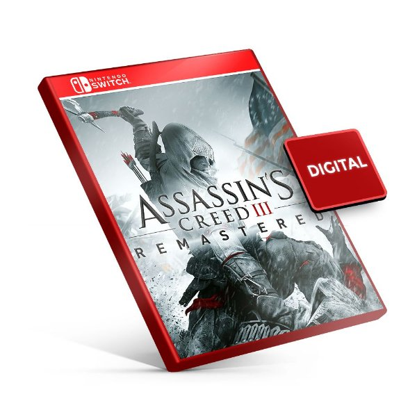 Assassin's Creed III Remastered - Nintendo Switch Mídia Digital
