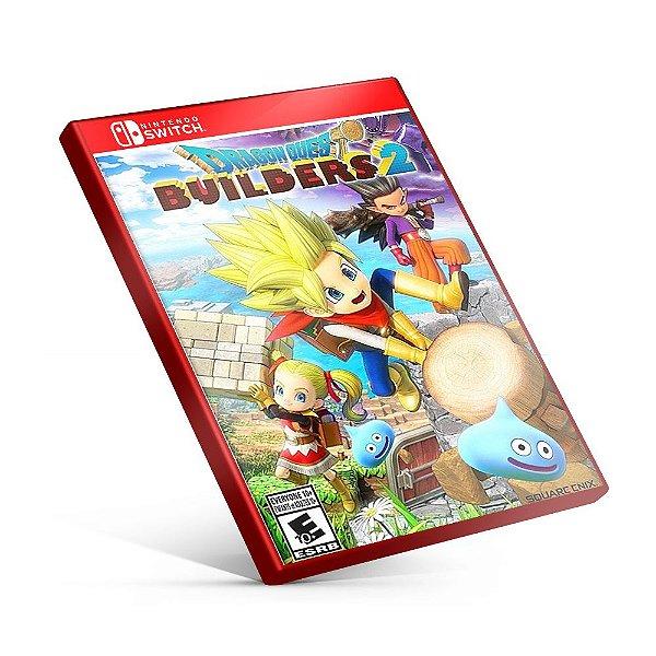 DRAGON QUEST BUILDERS 2 - Nintendo Switch Mídia Digital