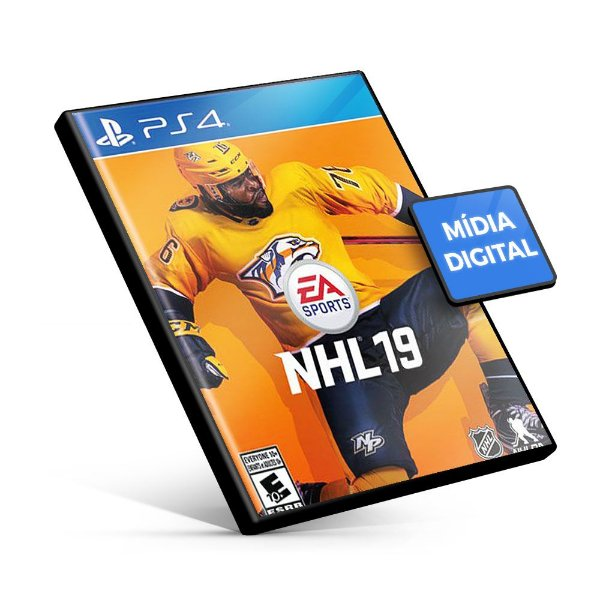 EA Sports NHL 19 - PS4 - Mídia Digital