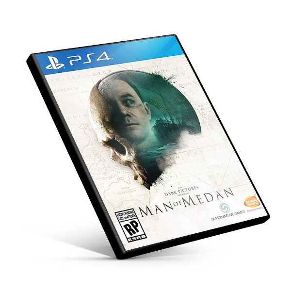 The Dark Pictures Anthology Man of Medan - PS4 Mídia Digital
