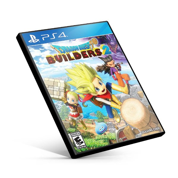 DRAGON QUEST BUILDERS 2 - PS4 MÍDIA DIGITAL