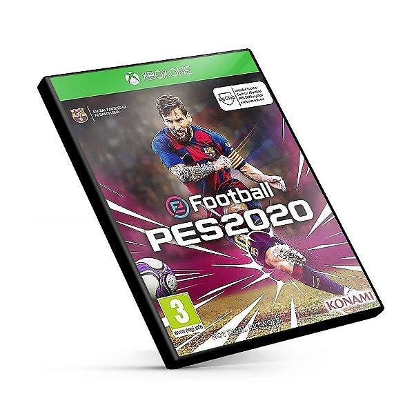 PES PRO EVOLUTION SOCCER 2020  - Xbox One Código 25 Dígitos
