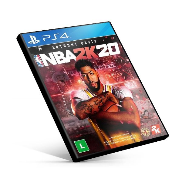 NBA 2K20 - PS4 Mídia Digital