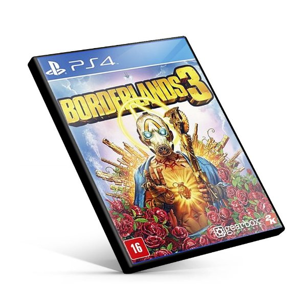 Borderlands 3 - PS4 Mídia Digital