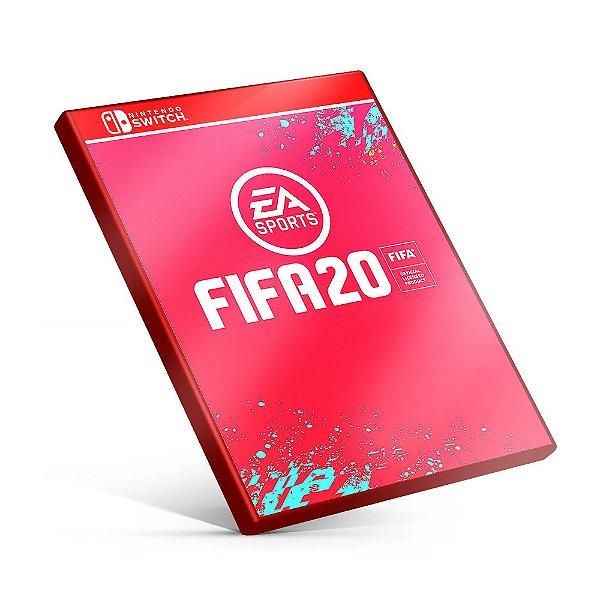 FIFA 20 - Nintendo Switch Mídia Digital