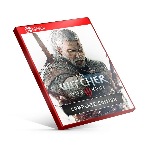 The Witcher 3: Wild Hunt Complete Edition - Nintendo Switch Mídia Digital