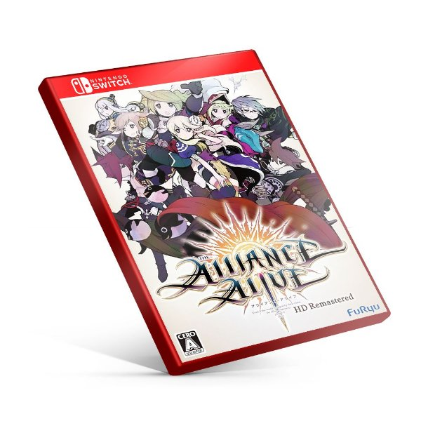 The Alliance Alive HD Remastered - Nintendo Switch Mídia Digital