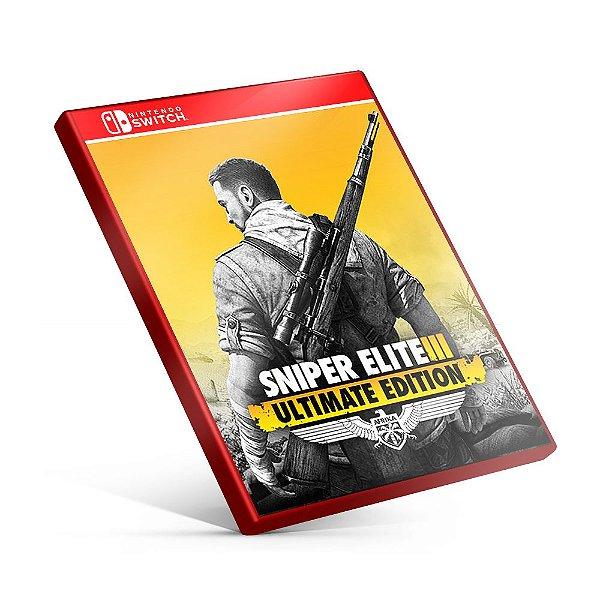 Sniper Elite 3 Ultimate Edition - Nintendo Switch Mídia Digital