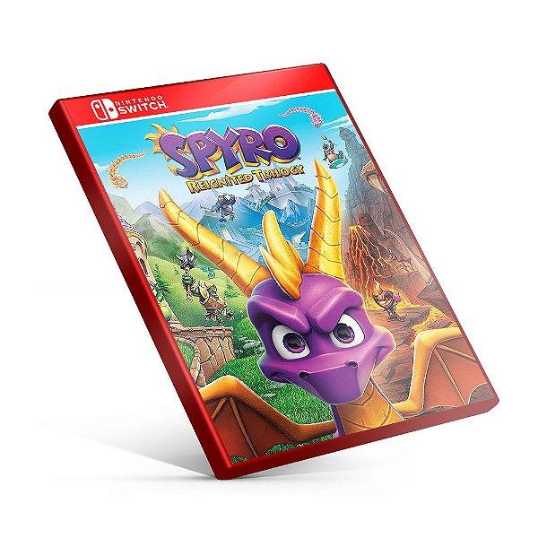 Spyro Reignited Trilogy - Nintendo Switch Mídia Digital