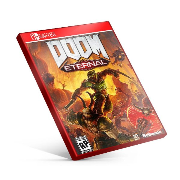 DOOM Eternal - Nintendo Switch Mídia Digital