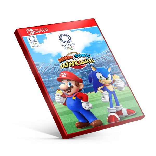 Mario & Sonic at Tthe Olympic Games Tokyo 2020 - Nintendo Switch Mídia Digital