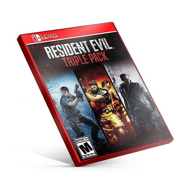 Resident Evil Triple Pack - Nintendo Switch Mídia Digital