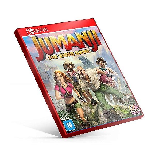 JUMANJI The Video Game - Nintendo Switch Mídia Digital