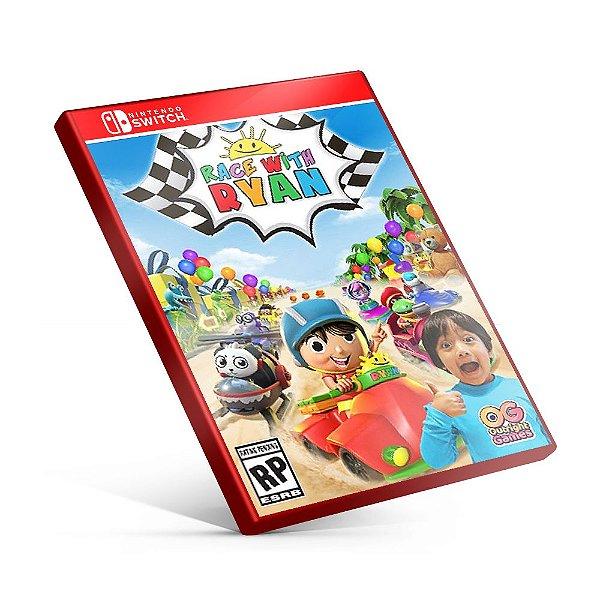 Race with Ryan - Nintendo Switch Mídia Digital