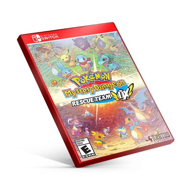 Pokémon Mystery Dungeon Equipe de Resgate DX - Nintendo Switch Mídia Digital