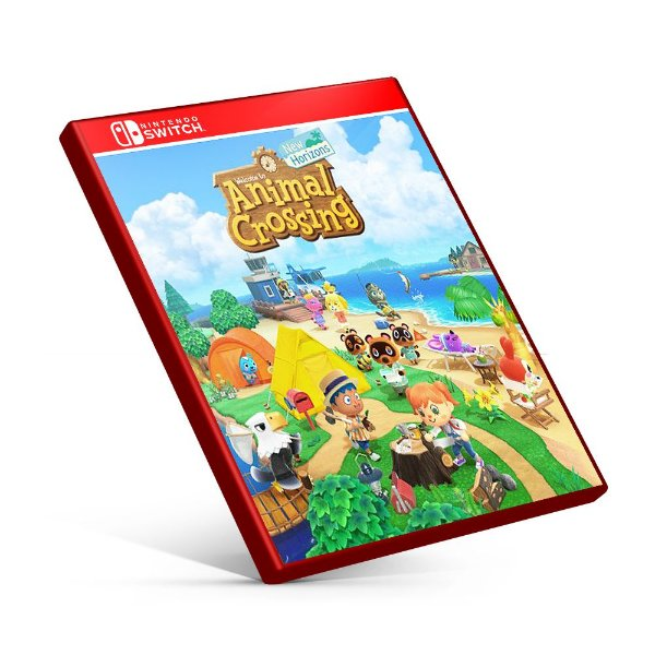 Animal Crossing Novos Horizontes - Nintendo Switch Mídia Digital