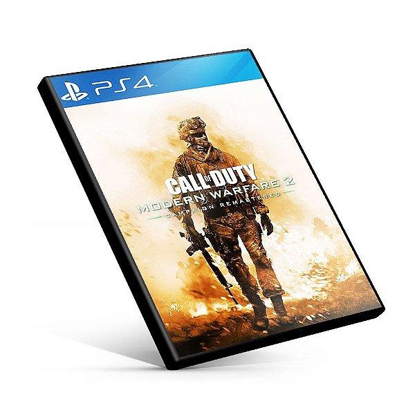 Call of Duty: Modern Warfare 2 Campaign Remastered - PS4 Mídia Digital