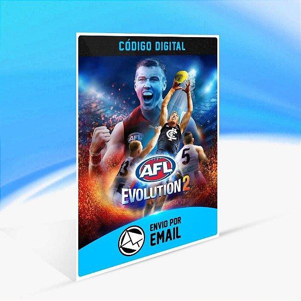 AFL Evolution 2 - Xbox One Código 25 Dígitos