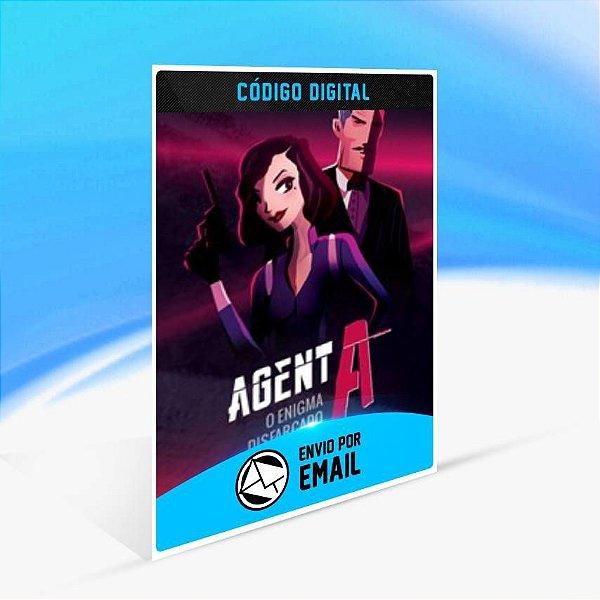 Agent A: O enigma disfarçado - Xbox One Código 25 Dígitos